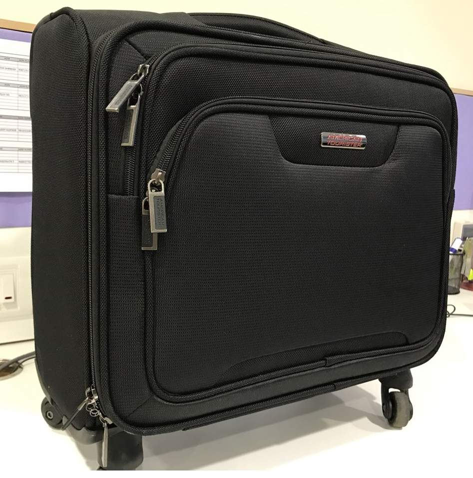 American Tourister Clark Overnighter Laptop Rolling Tote