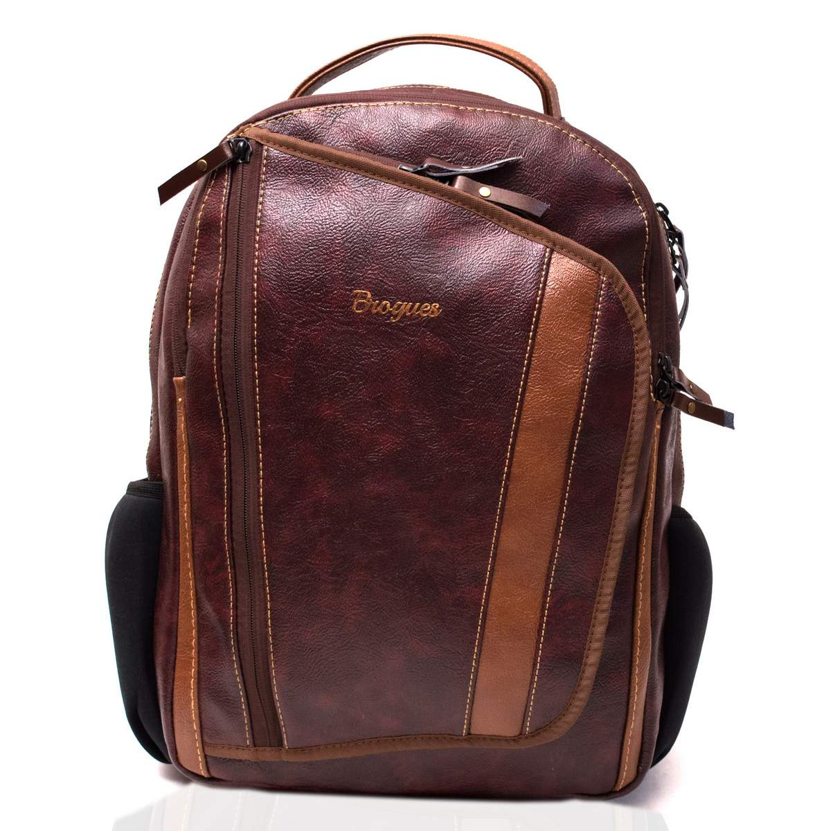 Brogues Cork Leather Laptop Backpack Bag - Sunrise Trading Co ... d9424a2911e7a