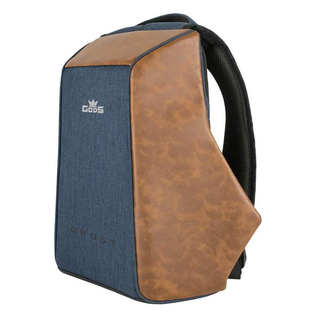 5bc5722eabcb Road Gods The Ghost Blue Minimalist Anti Theft Laptop Backpack-Sunrise  Trading Co.