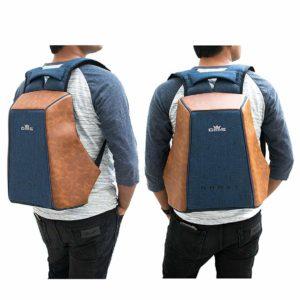 Road Gods The Ghost Blue Minimalist Anti Theft Laptop Backpack - Sunrise  Trading Co (Bangalore) 03f038cdf7462