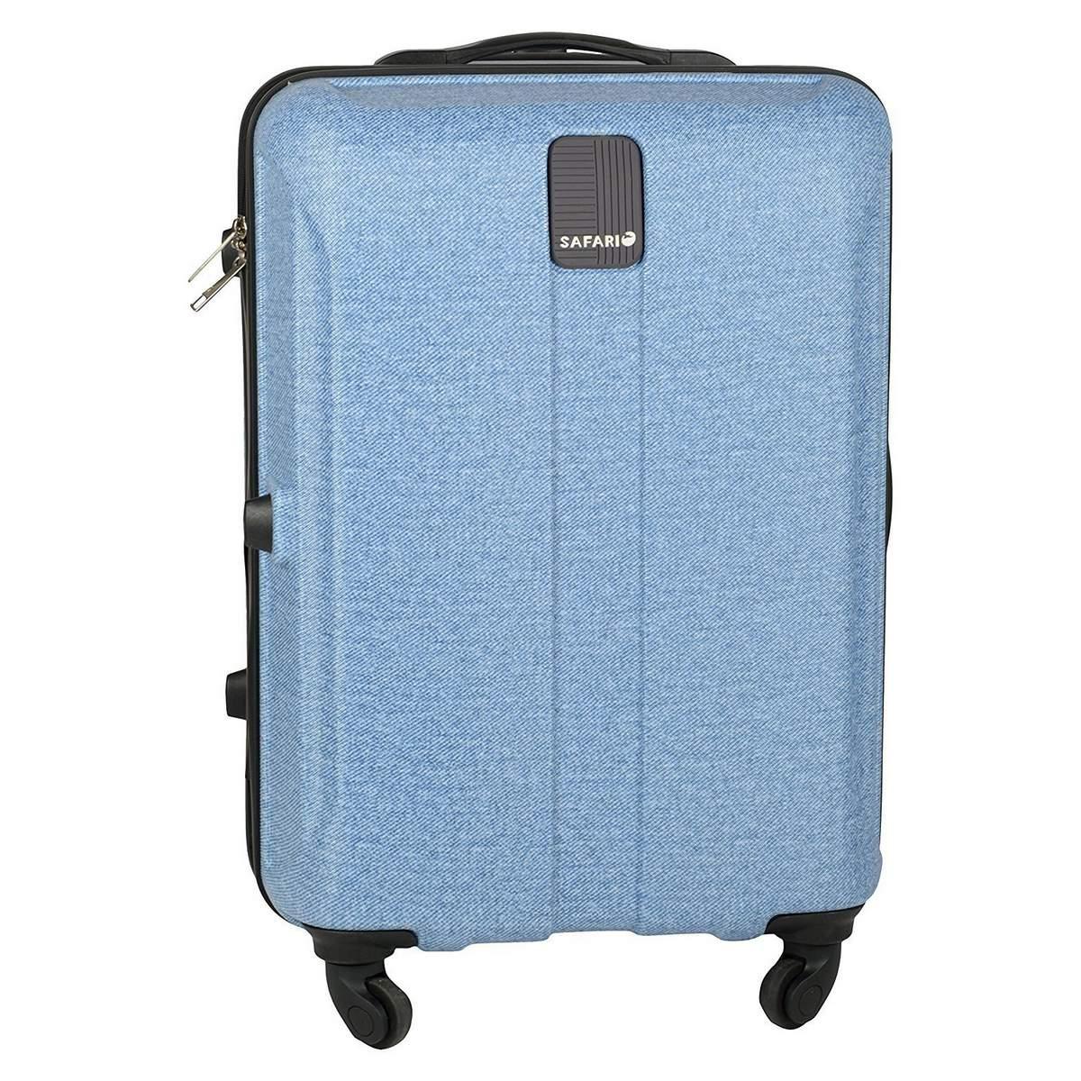 Safari Thorium Deluxe 55 Cm Cabin Size Hard Luggage Bag