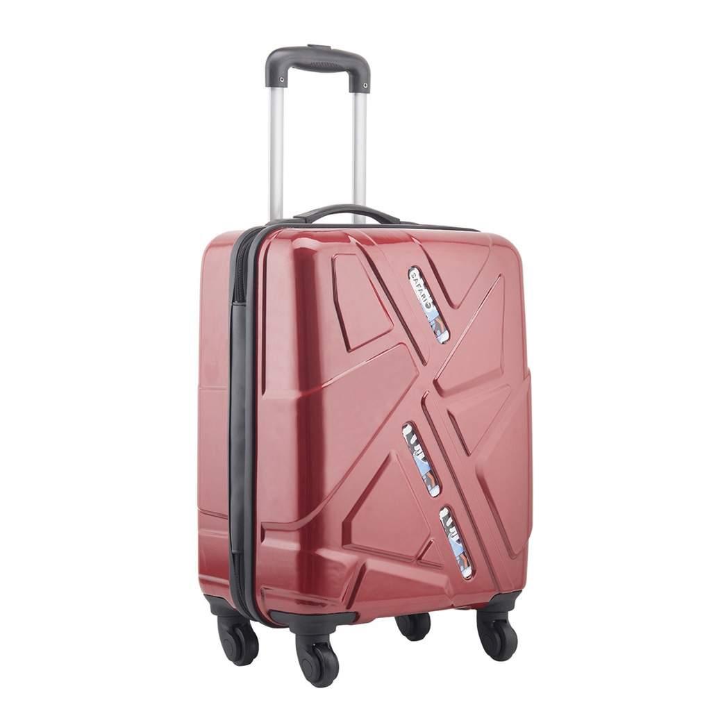 Safari Traffik Anit Scratch 4w 65 Cm Hard Luggage Bag