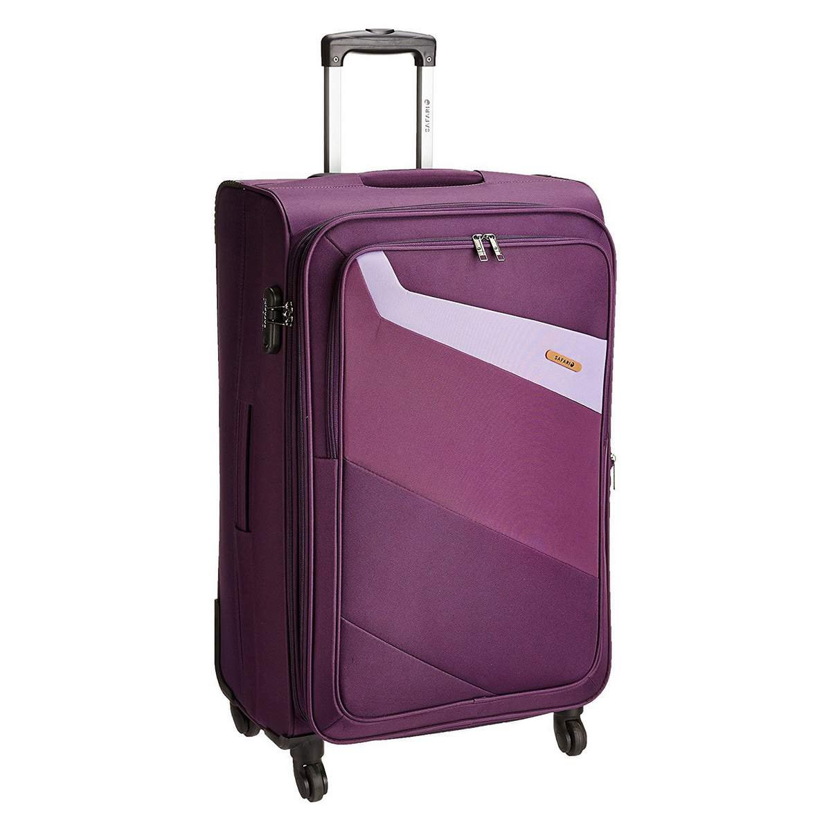 Safari Korrekt 4W Spinner 65 cm Check in Luggage Bag ...