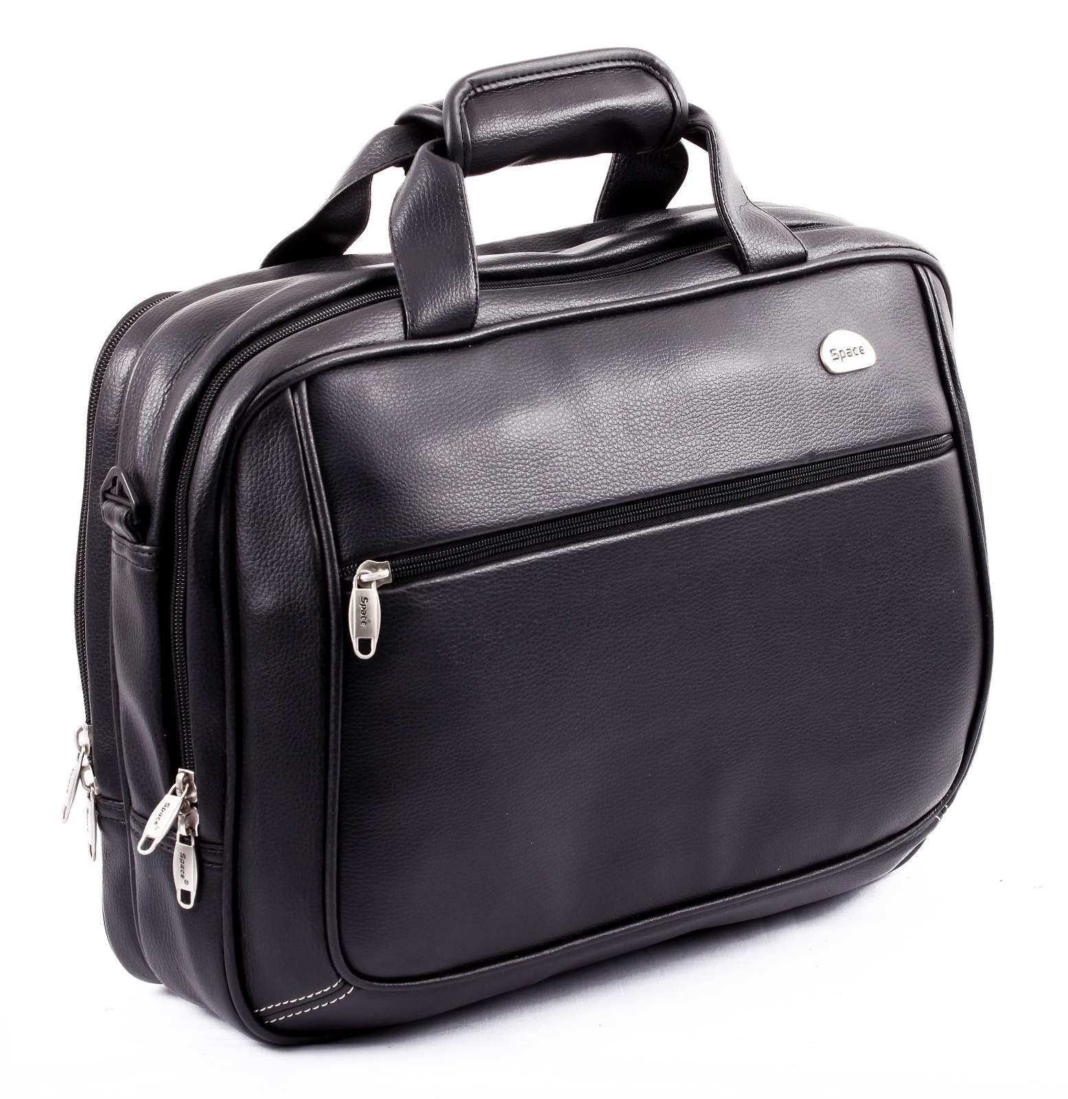 Space Leatherite PU Laptop Bag in Bangalore