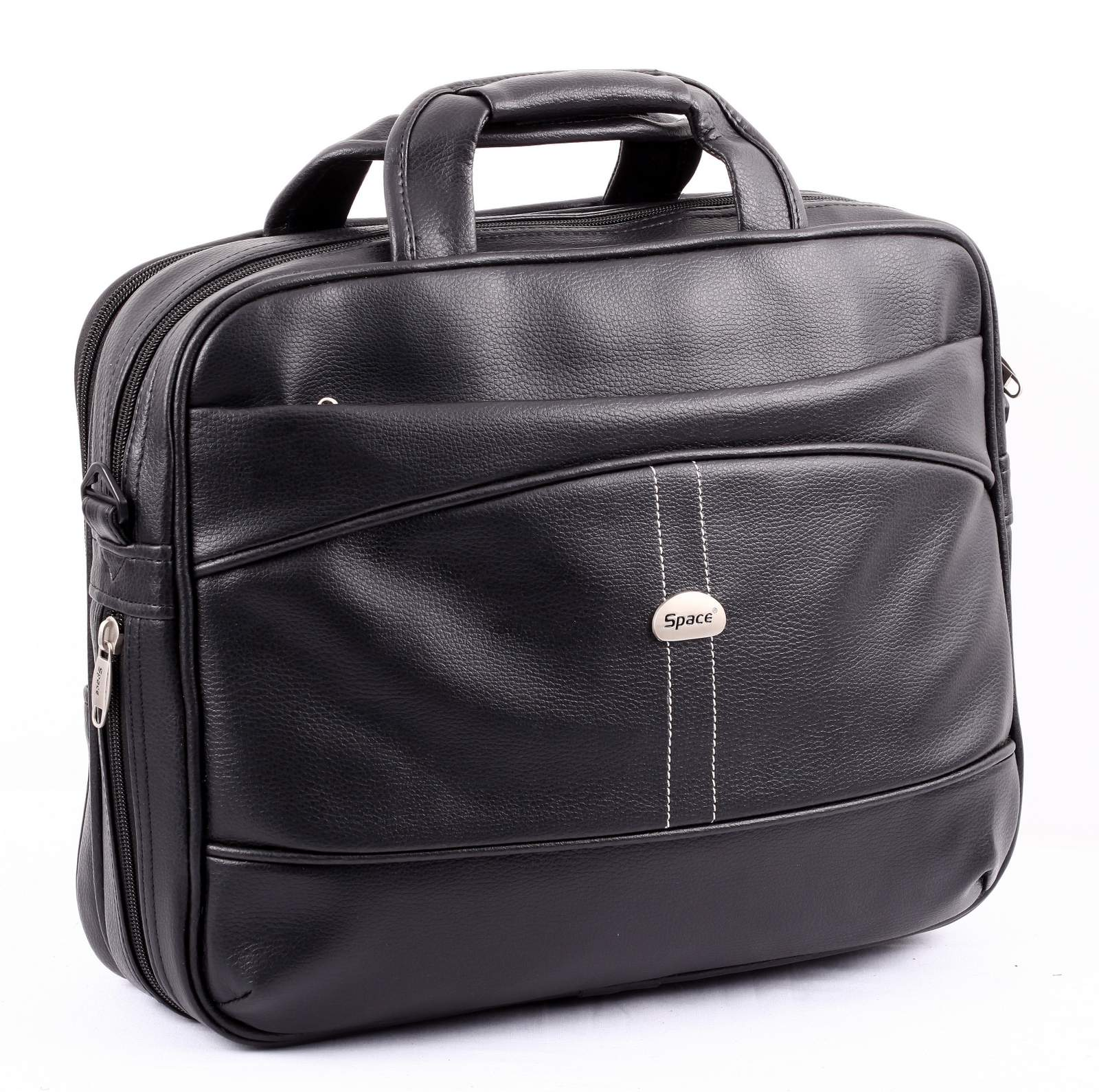 Space Leather Laptop Bag in Bangalore