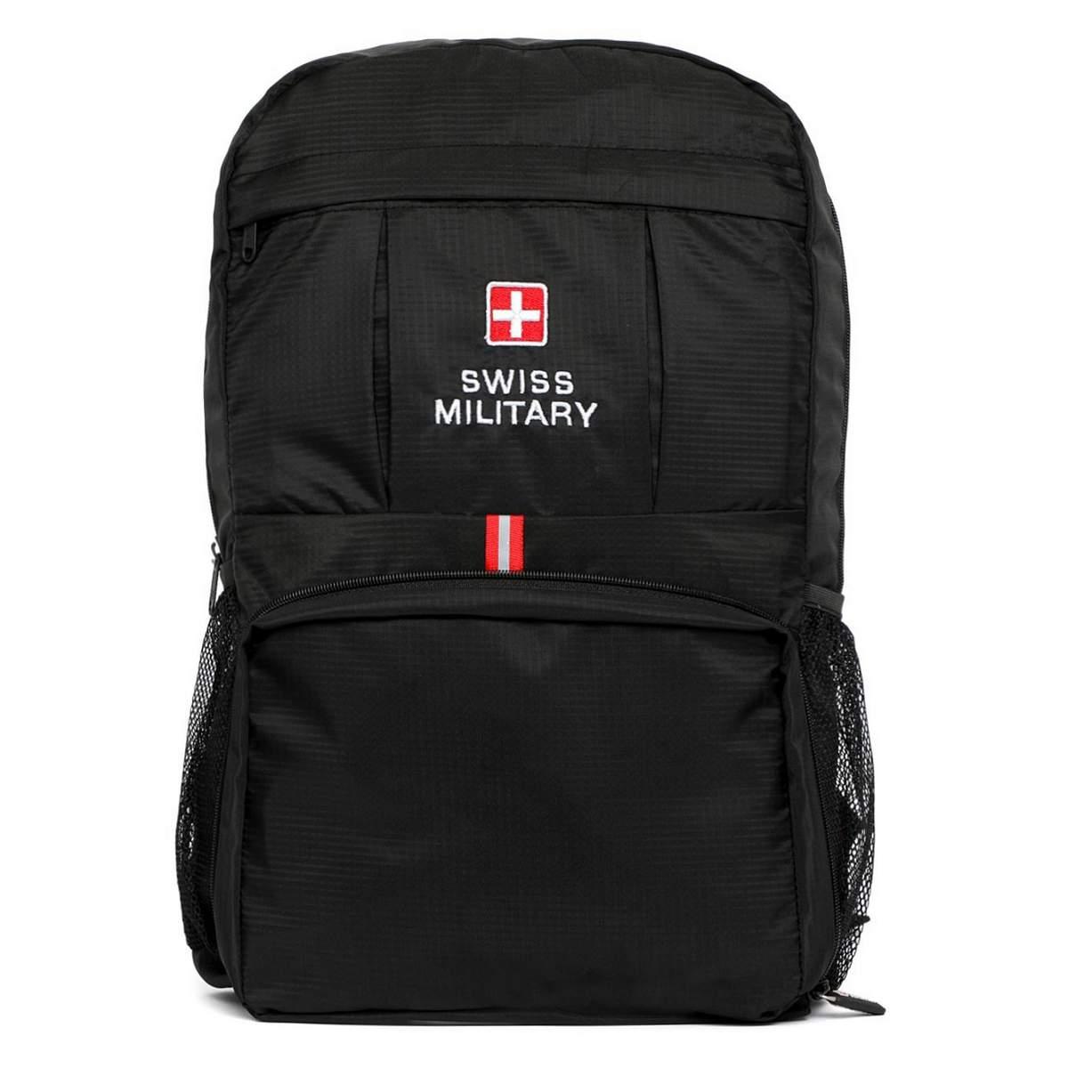 Swiss Military BP6 Premium Foldable Backpack Bag - Sunrise Trading ... ef4b96239beb0