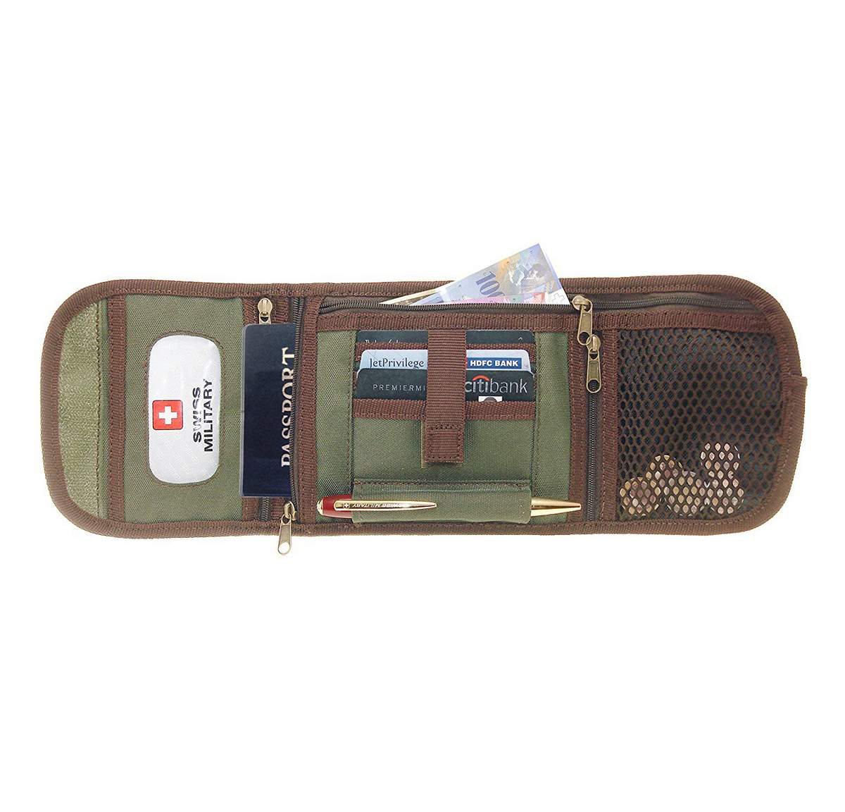 Swiss Military TW3 Travel Wallet