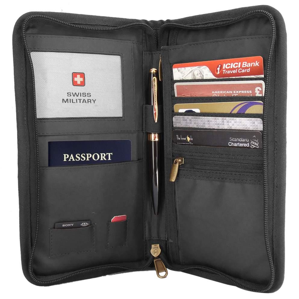 031663b727a Swiss Military TW4 Travel Wallet cum Passport Holder-Sunrise Trading Co.