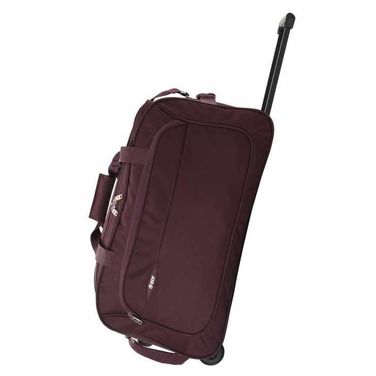 Vip Troy Dft 52cm Cabin Duffle Trolley Bag Sunrise Trading Co